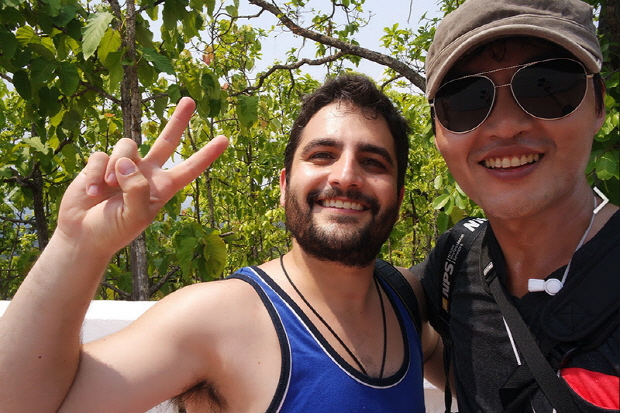 태국여행중멕시코여행자와
