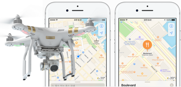 apple-map-drone