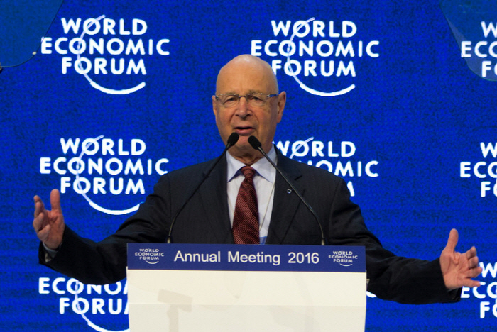 Klaus Schwab WEF 2016