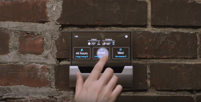 Microsoft-Glas-thermostat